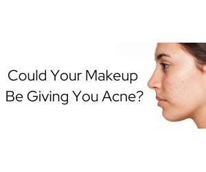 Could Your Makeup Be Giving You Acne?