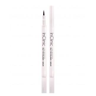 InClinic Cosmetics | Platinum Felt Tip Eyeliner + Serum